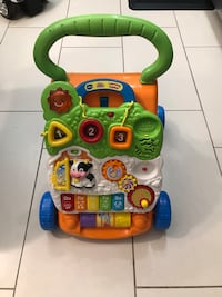 Vtech learning walker. Sit to stand