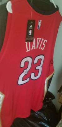 Autographed Anthony Davis Jersey  Belle Chasse, 70037