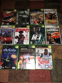 assorted Xbox 360 game cases Syracuse, 84075