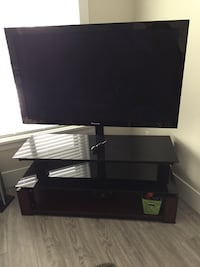 "50"" pioneer plasma with whalen tv stand Surrey, V3X"