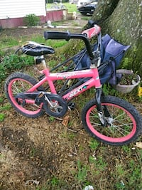 toddler's pink and white bicycle Pembroke, 28372