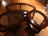 Brown center table and 2 end tables Woodbridge, 22193