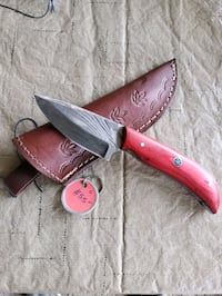 Beautiful Damascus steel red handle Murfreesboro