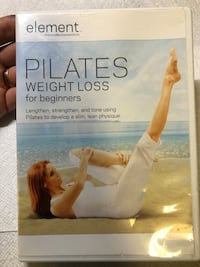 Pilates weight loss for beginners DVD