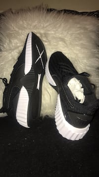 pair of black-and-white Adidas sneakers Oxon Hill, 20745
