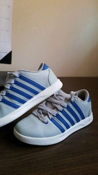 pair of blue-and-white KSwiss sneakers Odessa, 79761