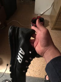 black and white nike air max shoe size 10.5 Detroit, 48212