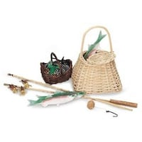 American Girl - Kirsten Fishing Set, retired, Pleasant Company
