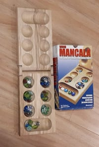 African Stone Game - Mancala--Count & Capture Game