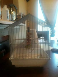 brown and white wooden bird cage Tampa, 33610