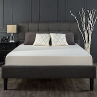 New Queen size gray tuft frame and mattress Hayward
