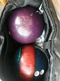 13.6lbs quantum/14.5lbs the beast bowling balls London, N5W 2X2
