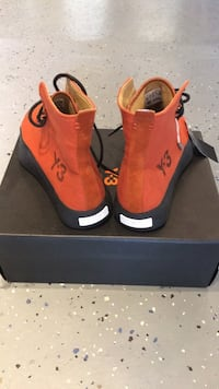 Adidas Y-3 Top Orange Sneakers Guelph, N1H