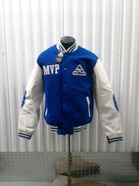 blue and white jacket size l Hyattsville, 20784