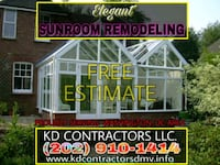 Sunroom Remodeling & Renovations Capitol Heights, 20743