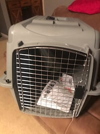 white and gray pet carrier New Richmond, 45157