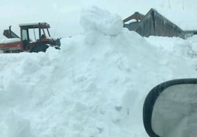 snow removal  75.00 hr. 2hr. min 25.00 after 2 hours