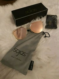 gold aviator sunglasses with frames Mississauga, L5G 1N8
