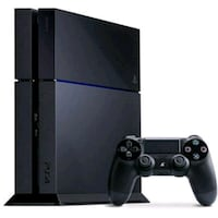 black Sony PS4 console with controller Midlothian, 23112