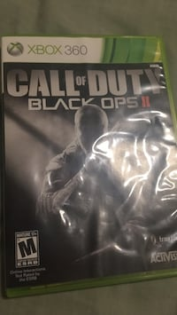 Call of Duty Black Ops 2 Xbox 360 game case District Heights, 20747