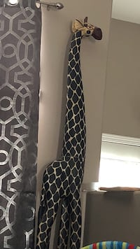 Black and white quatrefoil print textile Lloydminster