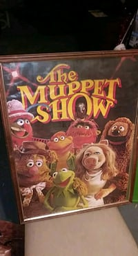 1976 Muppets Show poster Minneapolis, 55407