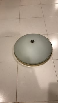 Gray dome light fixtures 2 items Annandale, 22003