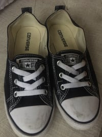Pair of black converse all star low-tops Victoria, V8Z 6B6