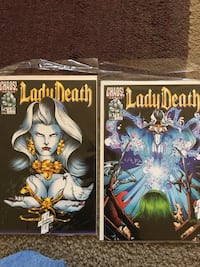 Lady Death: The Crucible numers 2,3,4,5 Beaverton, 97005