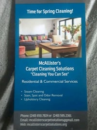 Carpet cleaning Silver Spring, 20910