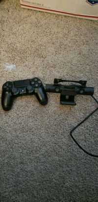PS4 Controller and camera w/privacy cover