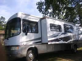 For Rent, Nice Motorhome on Lot Includes Utilities!