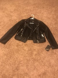 Women's brand new small leather jacket. Killeen, 76542