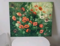 Painting of Poppies Limited Edition on Canvas
