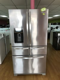 Whirlpool stainless steel 5 door refrigerator  Woodbridge, 22191