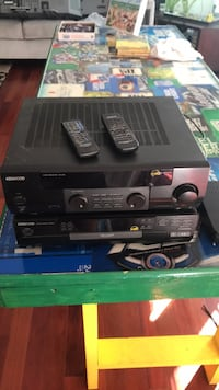 Kenwood Reciever and Disk Changer comes with two free speakers