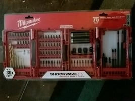 75PC Impact Drill And Drive Set