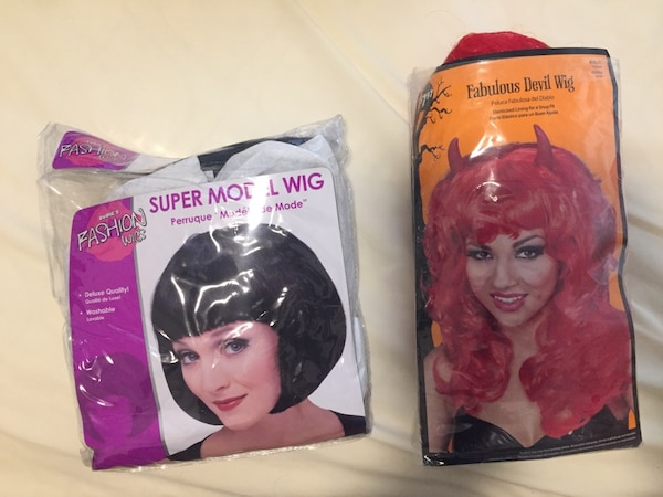 Halloween wigs accessories
