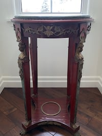 Art Deco Marble top side table