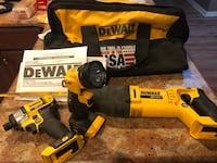 DeWalt 3 piece Cordless Tool set with Carry bag included $200 Orlando, 32825