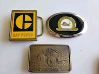 3 Limited Edition Caterpillar Power Buckles Calgary, T2R 0S8