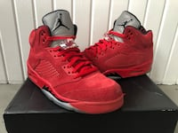 "Jordan 5 ""Red Suede"" Grand Rapids, 49504"