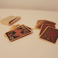 Vintage Russian Playing Cards Columbia, 21045
