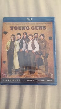 YOung Guns Blue-Ray DVD-etui Oslo, 0985
