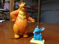 Bear in the Big Blue House figures