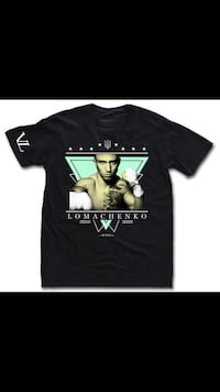 "Vasyl ""Hi Tech"" Lomachenko Custom Boxing Shirt"