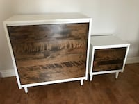 Small dresser and side table