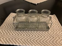 Rustic glass vases East Patchogue, 11772