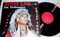 CHIEF THUM Souvenir Album LP  Anderson