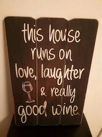 "18x12"" sign perfect for wine lovers Halton Hills, L7G 4K3"